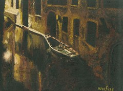 Night view of a Venetian canal (Wasfi Akab) Tags: old city original venice houses shadow urban italy brown white house color reflection cute art love water beautiful beauty architecture night analog dark painting paper landscape geotagged boat canal sketch europe paint pretty artist italia view artistic outdoor drawing iraq cardboard painter oil draw lovely exile middle venezia perugia iraqi middleast akab wasfi mygearandme mygearandmepremium ringexcellence dblringexcellence tplringexcellence flickrstruereflection1 flickrstruereflection2 flickrstruereflection3 flickrstruereflection4 flickrstruereflection5 flickrstruereflection6 flickrstruereflection7 eltringexcellence flickrstruereflectionexcellence