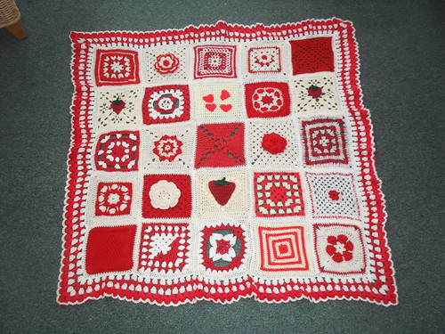 'Strawberry Delight' - Thanks to everyone who have contributed Squares!