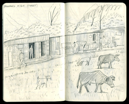 Nepal Sketchbook by ardillustration