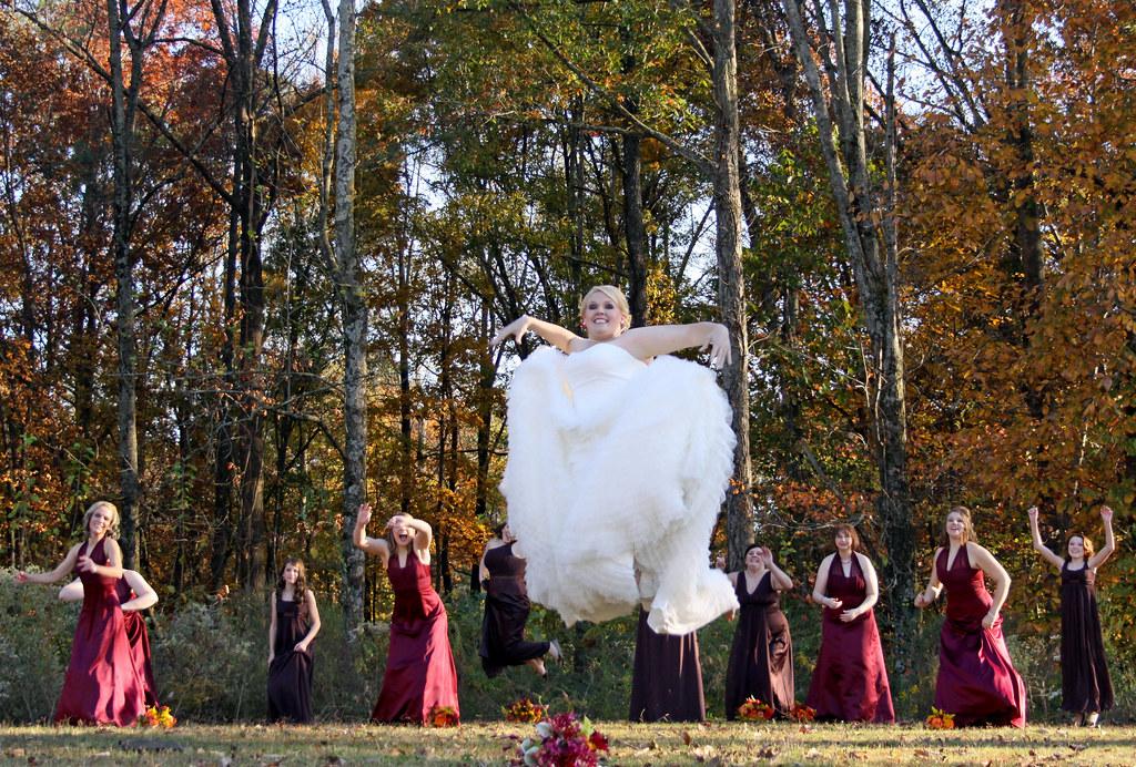 Floating bride