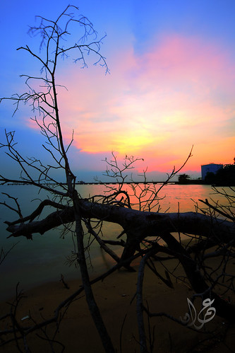 Sunset @ Pantai Kundur (Pantai Puteri), Malacca