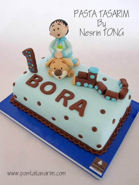 1ST BIRTHDAY CAKE - BORA