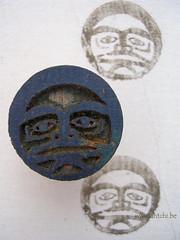 imprimé Haida moon