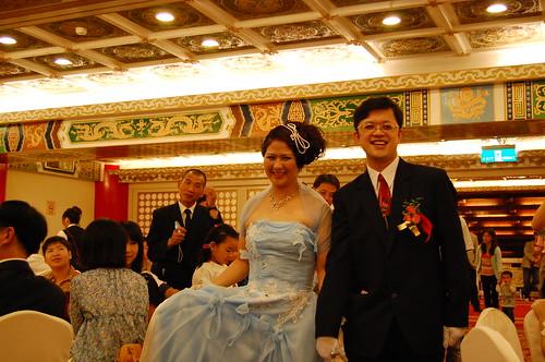 藍小西的婚宴
