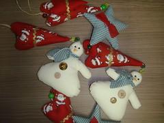 Mbiles de Natal (Ateli Mari Martins) Tags: natal artesanato feltro tecido