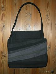 sac big size noir-bleu verso