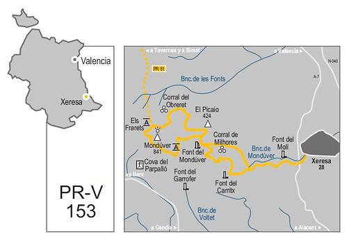 PR-CV 153 La Font del Mondúver