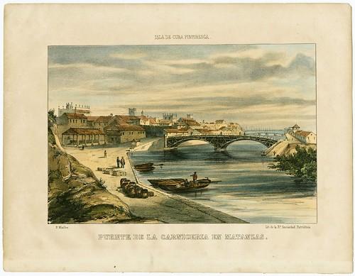 Puente de la Carniceria en Matanzas