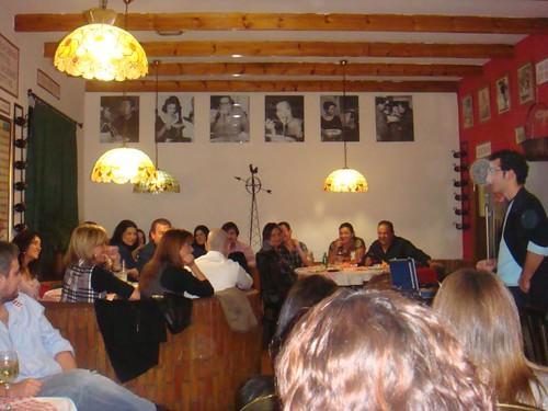 Cena en O´Mamma Mia ONG IAE