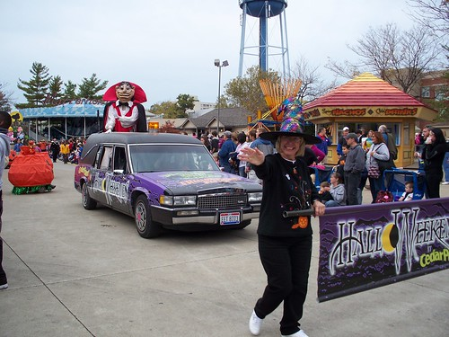 Cedar Point - Monster Midway Invasion Celebration Parade