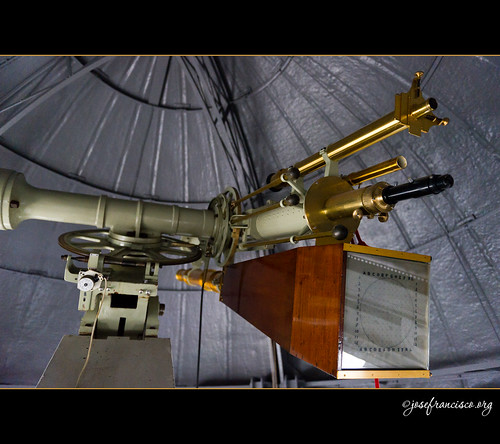 Newbegin refractor at RGO