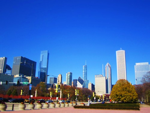day 313: chicago skyline