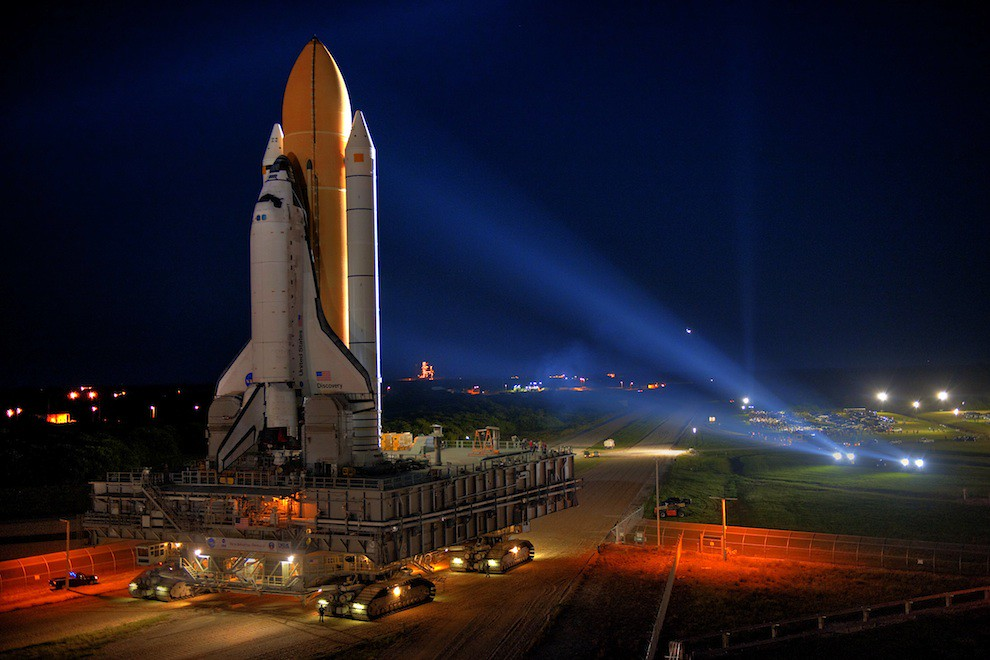 Incredible Photos from Space: Space shuttle Discovery