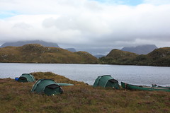 Canoe Camping Scottish Highlands