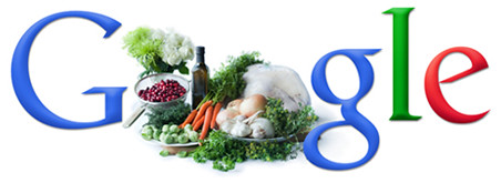 Google Thanksgiving Recipes. Doodle by Ina Garten