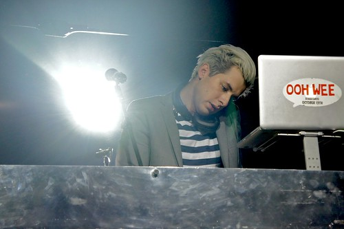 Mark Ronson Djing at Brancaleone, Roma