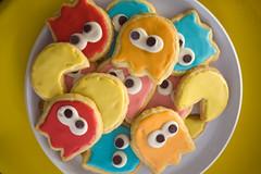 Pac-Man cookies (chrisglass) Tags: cookies pacman