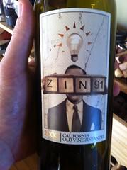 2009 Zin 91 Old Vine Zinfandel
