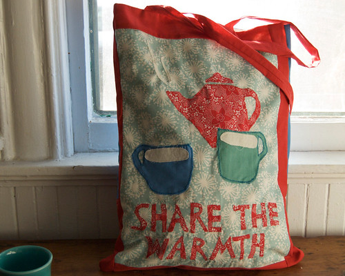 share the warmth redbag
