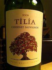 2009 Tilia Cabernet Sauvignon