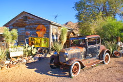 Route 66 (butacska) Tags: old arizona car route66 desert sony