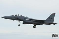 91-0335 - 1242 E200 - USAF - McDonnell Douglas F-15E Strike Eagle - Lakenheath - 100719 - Steven Gray - IMG_8288