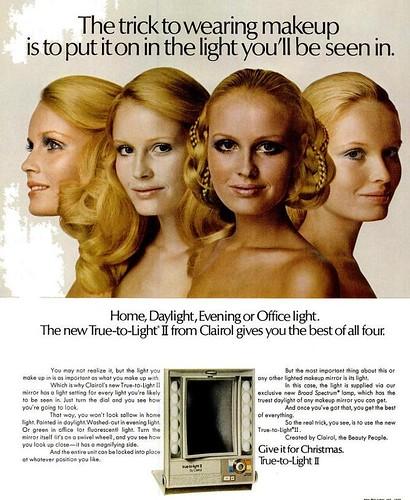 Makeup Mirror Life Dec 4 1970