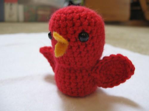 Crochet Cardinal