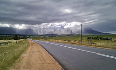 Not Quite Summer (Steve Crane) Tags: road morning light clouds southafrica stellenbosch boland westerncape anandaleroad