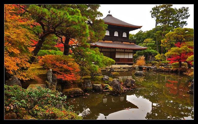 Silver Pavilion, Ginkaku-ji Temple