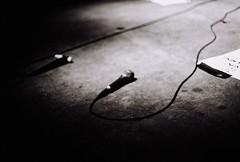 (Benjamin Skanke) Tags: white black film analog 35mm dark 50mm concert md fuji minolta f14 stage 11 1600 neopan mic canoscan xd rokkor