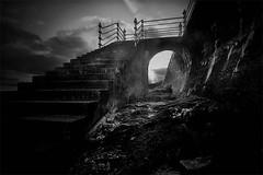 Gloomy Dunoon (BoboftheGlen) Tags: beach scotland argyll promenade dunoon