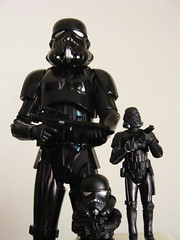 Backhole Trooper (nuo2x2) Tags: shadow trooper black action figure stormtrooper rah blackhole hasbro medicom stormies shadowtrooper nuo2x2