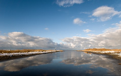 Into the wide open (Danil) Tags: winter holland reflection beach sinterklaas strand daniel sneeuw nederland netherland duinen friesland schiermonnikoog d300 wolkenlucht