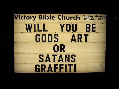Satans Graffiti