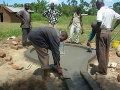 Bumang'ale Nursery School drainage pad