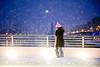 City Snow (shaymurphy) Tags: bridge pink ireland dublin woman snow storm girl hat night scarf lights blizzard beckett samuel onphone nikond700 nikkor2470f28