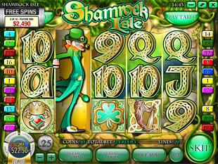 free Shamrock Isle slot expanded wild