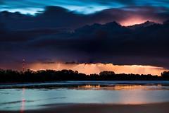 Sommergewitter (louhma) Tags: sommergewitter gewitter blitz blitze lightning gewitterwolke clouds wolke wolken colors colours colorful nature landscape see lake speichersee reflection spiegelung silhouette lichter longexposure long exposure langzeitbelichtung