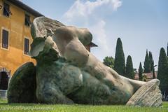 Fallen Angel by Angelo Caduto (www.chriskench.photography) Tags: xt2 tuscany statue art travel 18135 pisa toscana italy italia kenchie europe fujifilm wwwchriskenchphotography it