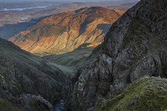 Top of Dungeon Ghyll, Langdale Pikes. (sunstormphotography.com) Tags: cumbria cumbrianfells cumbrianmountains landscape lakedistrict dungeonghyll ravine langdalepikes langdale langdalevalley windermere canon24105l canon5dmark3 polarisingfilter ndgradfilter