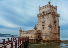 Belem Tower - Lisbon, Portugal (malc1702) Tags: belemtower tower lisbon portugal travel travelphotography architecture history historicbuilding bluesky bridge touristattraction tourism portugaltourism attraction beauty ocean waterfront outdoor holiday vacation worldtravel europe colorsinourworld ngc
