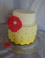 Easter cake (icedimpressions) Tags: yellow scallops fantasyflower