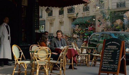 Inception Cafe Scene Paris