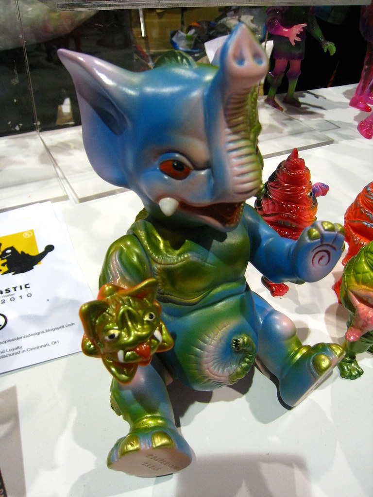 Paul Kaiju at SDCC 2010