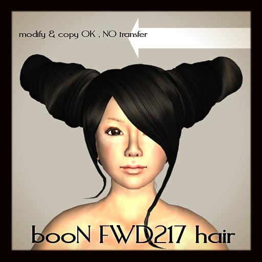 booN FWD217hair