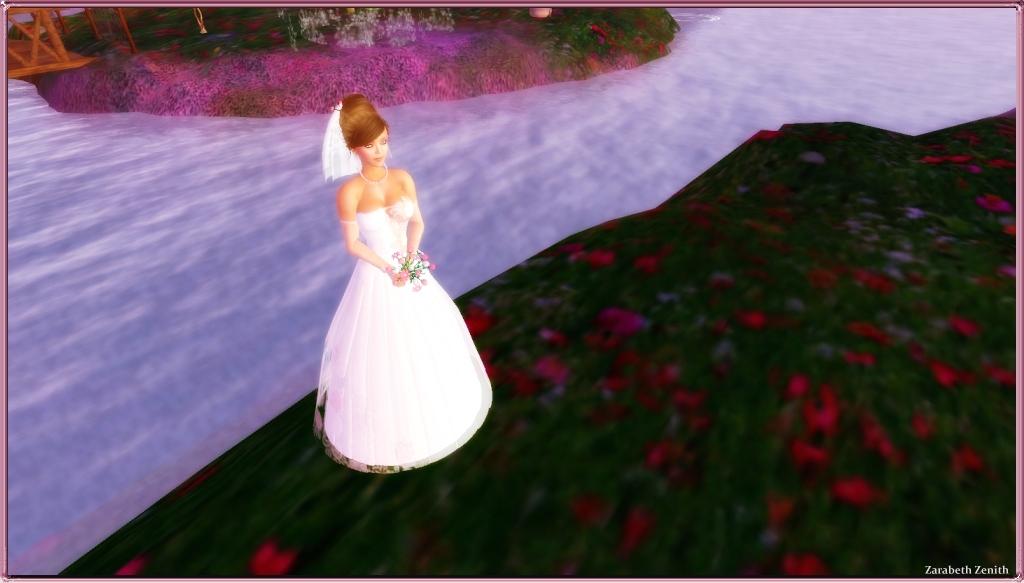 Coconut Ice ~ Belle Reve Wedding Gown (Flirty Rose) Photo # 2
