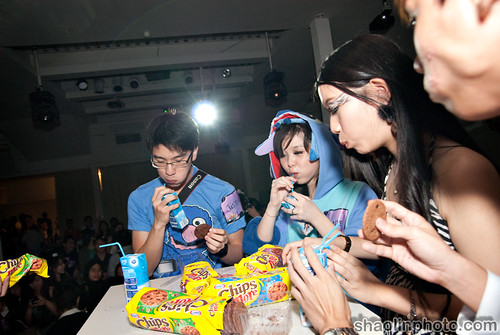 Cookie Eating Contest