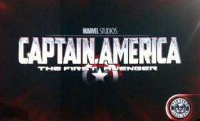 Captain America: The First Avenger 2011 Movie logo
