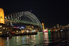 Sydney Harbor Bridge at night (til213) Tags: bridge sydney australia australien brcke harborbridge